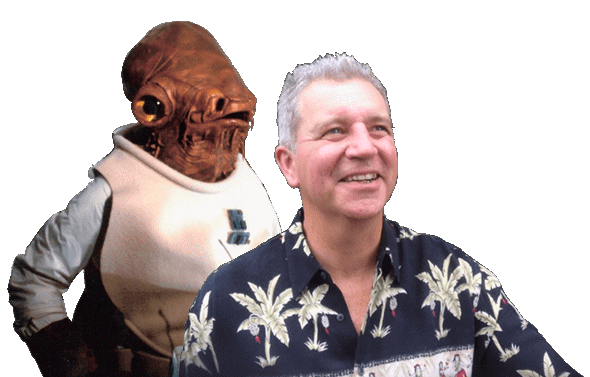 Tim Rose and Admiral Ackbar Banner